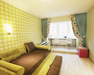 Vaikų kambario spalvinis sprendinys