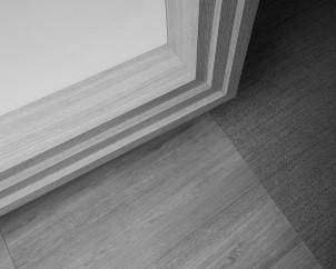 Priimamojo baldo ir grindų fragmentas