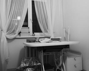 Miegamojo kambario darbo zona  I