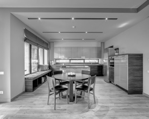 Virtuvės ir valgomojo zona